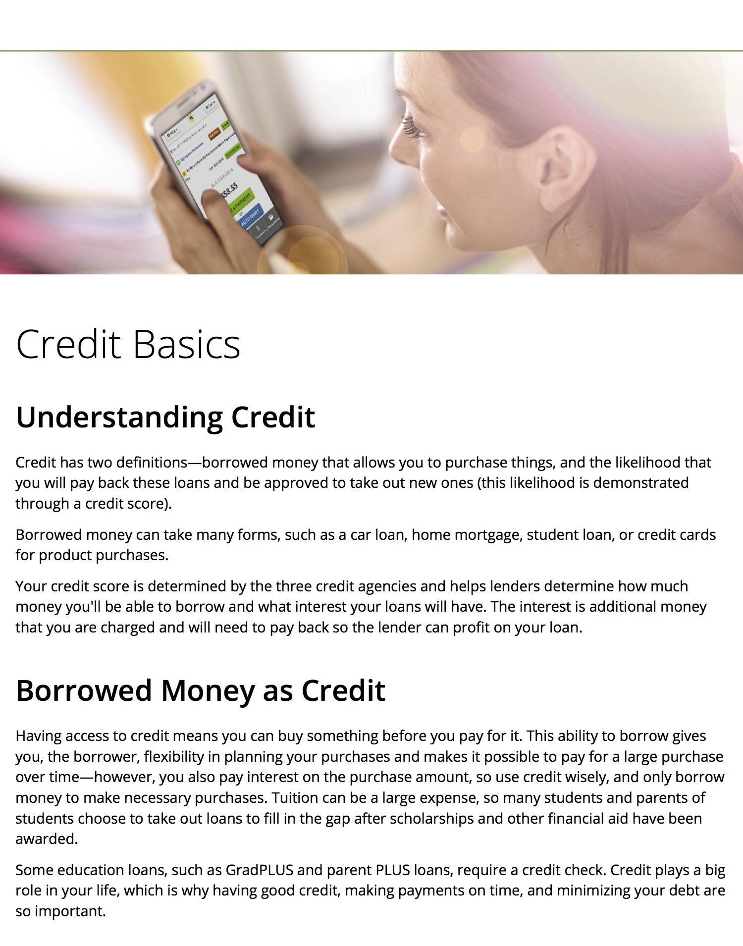 Nelnetcom Financial Literacy Website