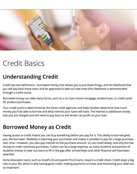 nelnetcom - Credit Basics