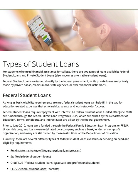 nelnetcom - Types of Student Loans